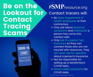 smp scam alert - contact tracing