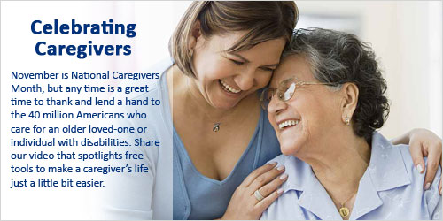 November is caregivers month